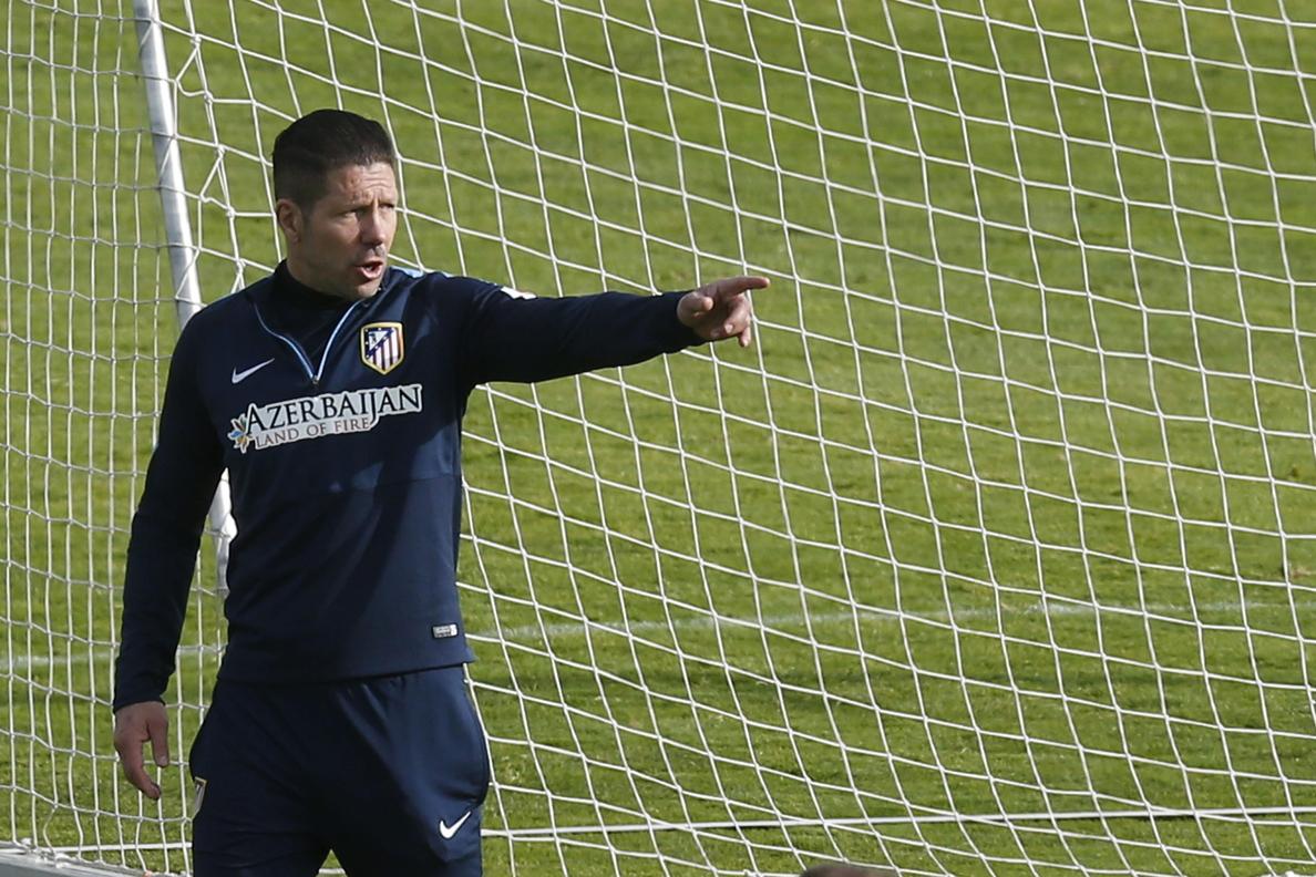 Simeone cree que «se puede superar este año; no es fácil, pero se puede»