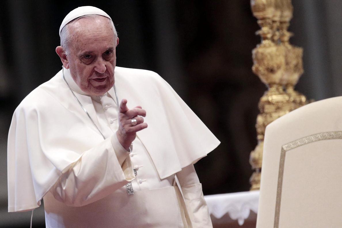 El papa escuchó hoy a personas acogidas en la Comunidad papa Juan XXIII
