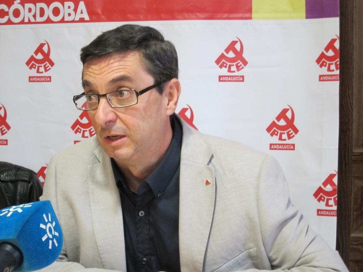 Centella defiende que frente «al fin de la crisis por decreto» de Rajoy hay que construir «un nuevo modelo de país»