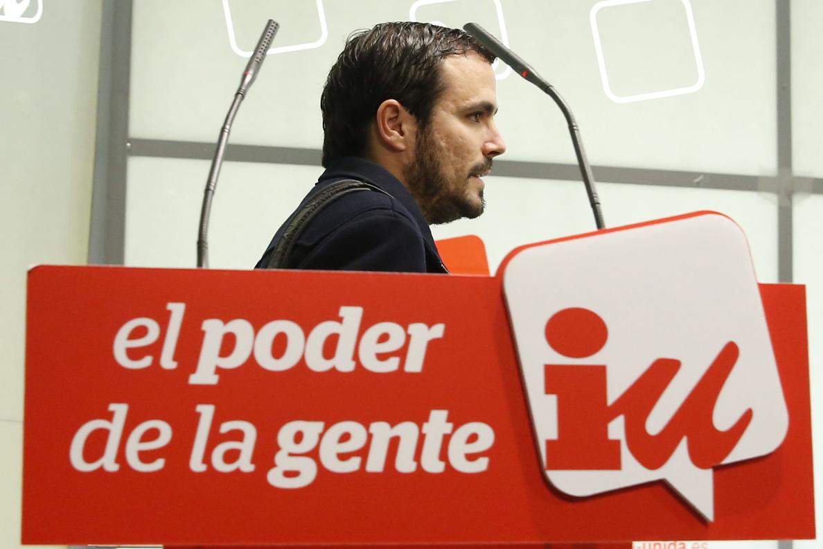 Garzón, a favor de la creación de una comisión de investigación sobre formación