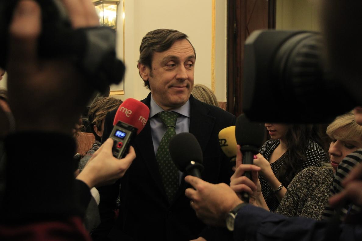 El portavoz del PP en el Congreso, convencido de que el PSOE pactará con Podemos