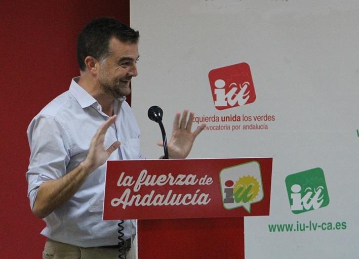 IULV-CA celebra hoy una Asamblea de Rendición de Cuentas para abordar la petición de ruptura del pacto con el PSOE-A