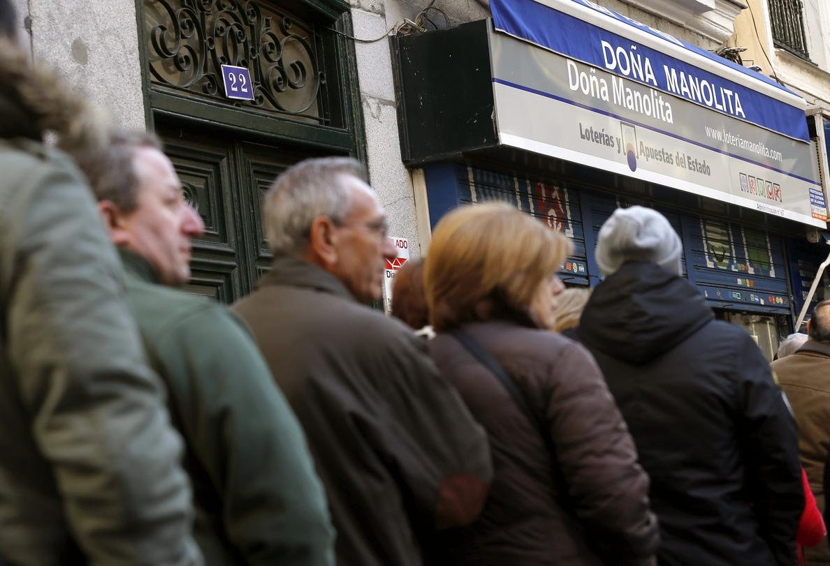 Madrid, con 484 millones, la comunidad con más lotería del «Gordo» a la venta