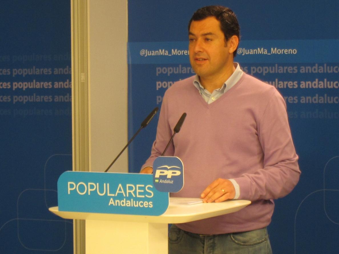 Moreno reclama a Díaz que aparque «el juego de tronos que tiene con Sánchez» y resuelva los problemas de los andaluces