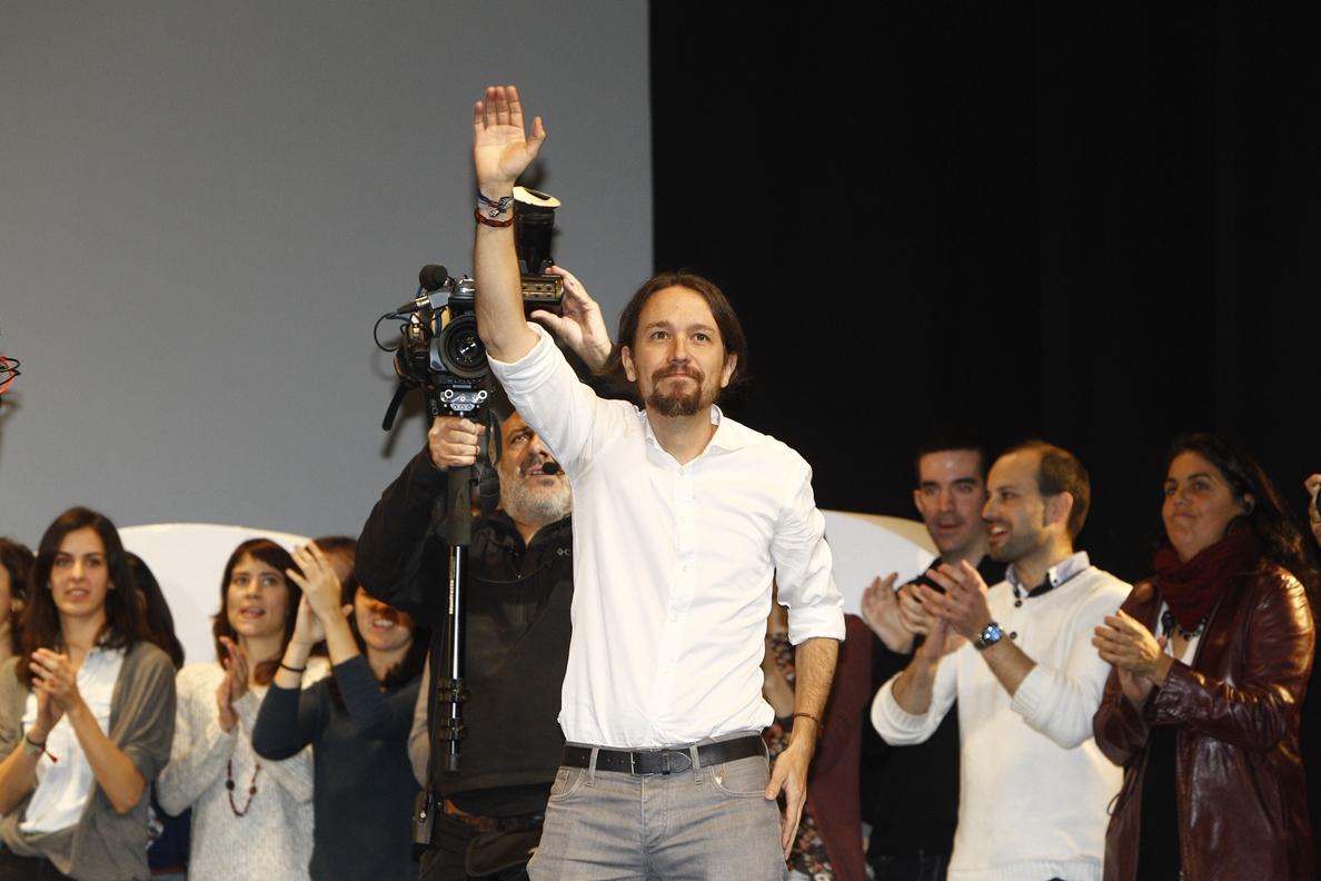 Pablo Iglesias da hoy en Barcelona su primer mitin como secretario general de Podemos