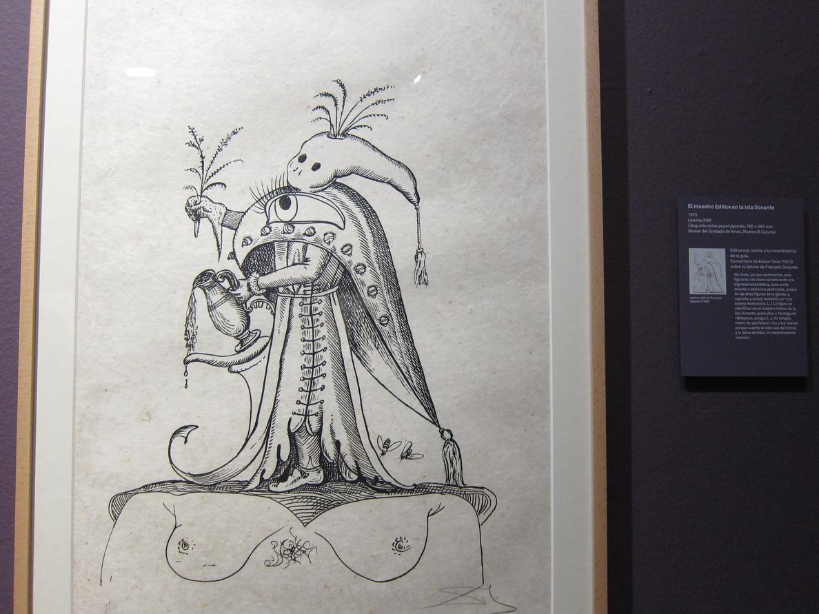 La DPZ organiza visitas guiadas para escolares a la exposición »Salvador Dalí. Imágenes de historias»