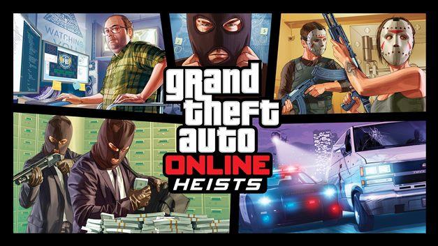 Grand Theft Auto Online presenta un nuevo tráiler sobre »Los Golpes»