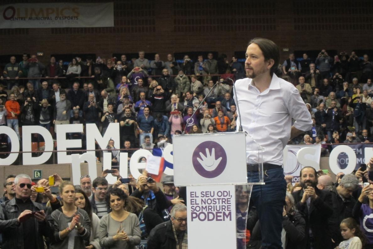 Iglesias no reconoce a CiU como actor político para hablar de soberanía