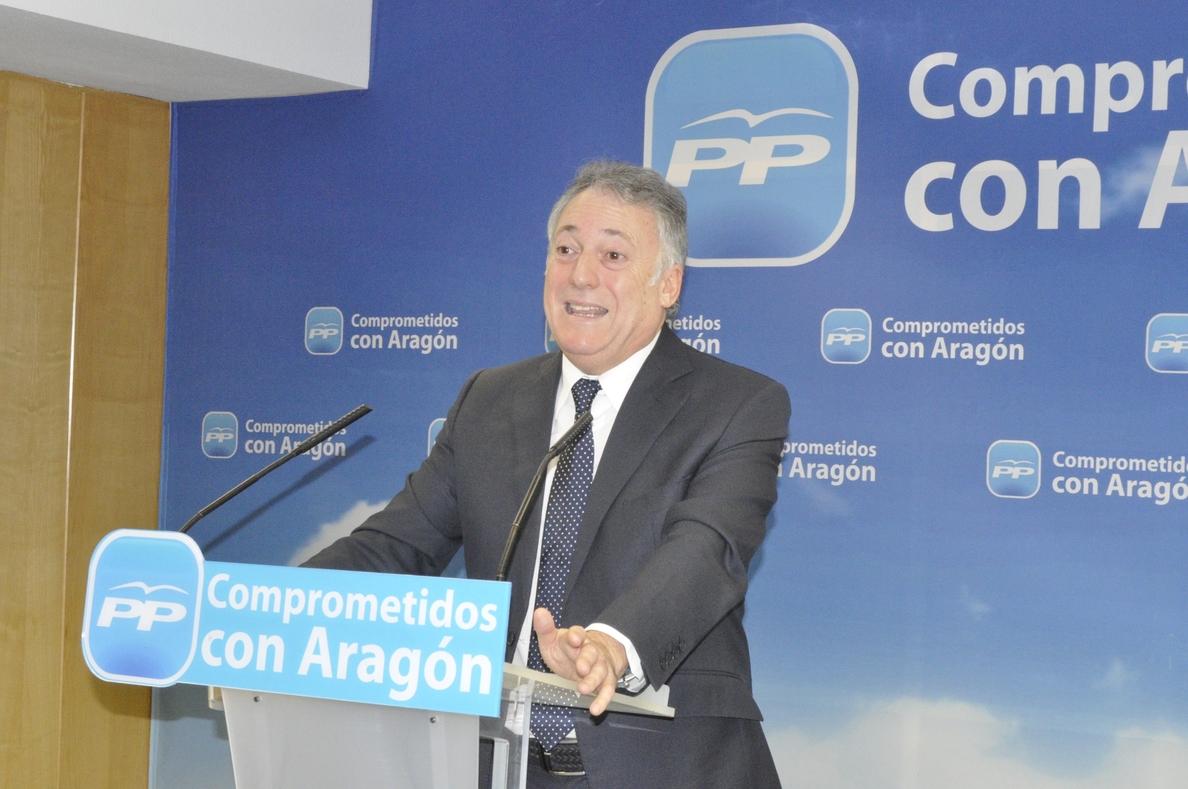 Octavio López, convencido de que el PP recogerá los frutos de las «difíciles» reformas realizadas el año próximo