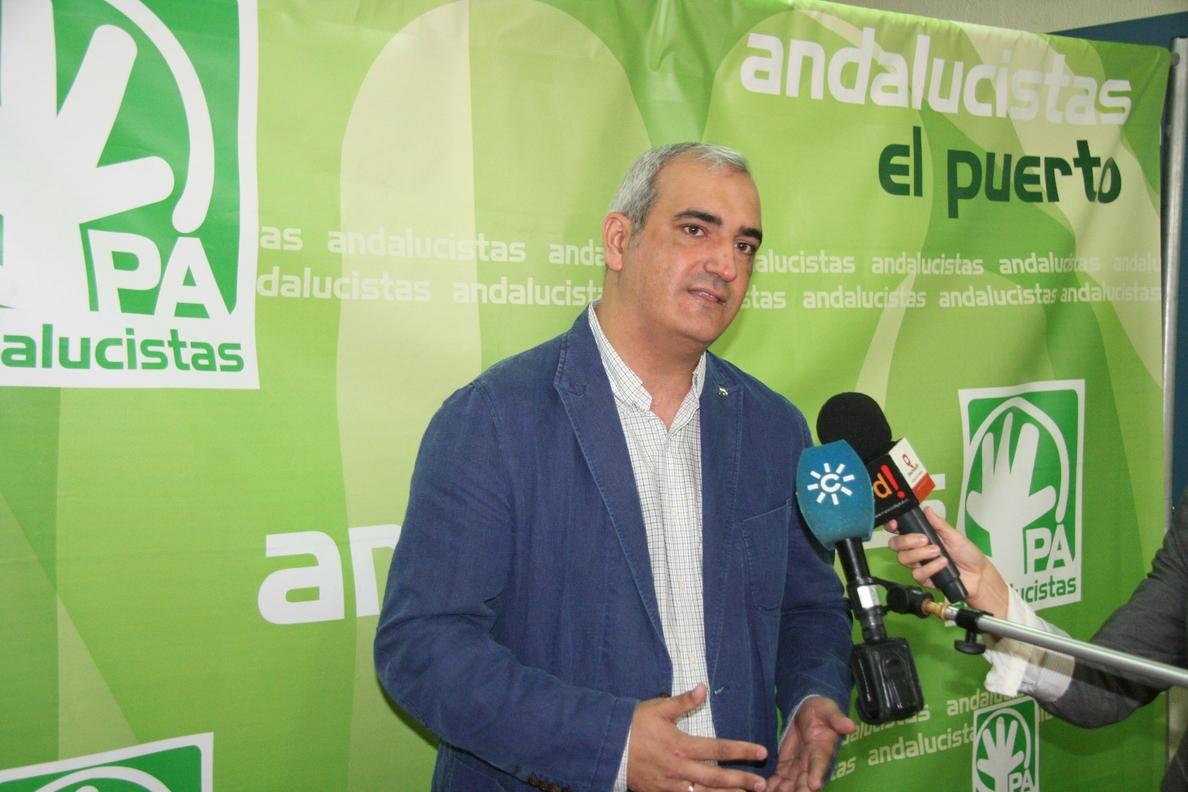El PA ve una «falta de respeto a los andaluces» que IULV-CA convoque un referéndum sobre su continuidad en el Gobierno