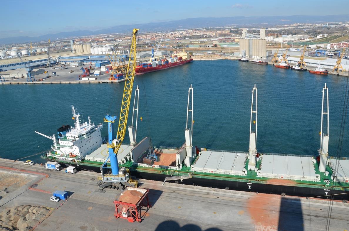 El Puerto de Tarragona crece un 11% en mercancías hasta noviembre
