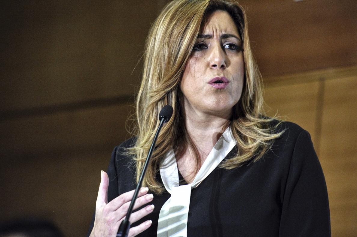 Susana Díaz reclama a IU «lealtad, madurez y responsabilidad» para cumplir el pacto