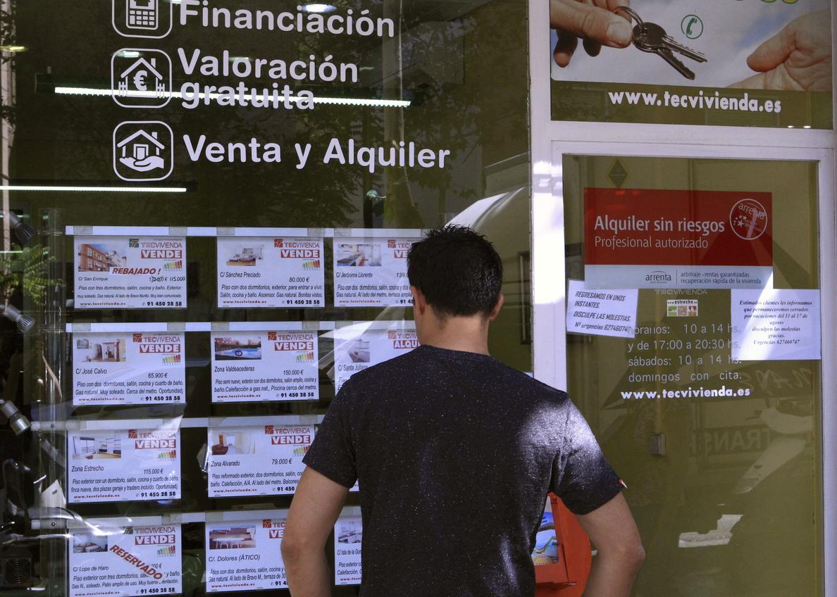 Las ejecuciones hipotecarias sobre viviendas habituales aumentan un 13,5 por ciento
