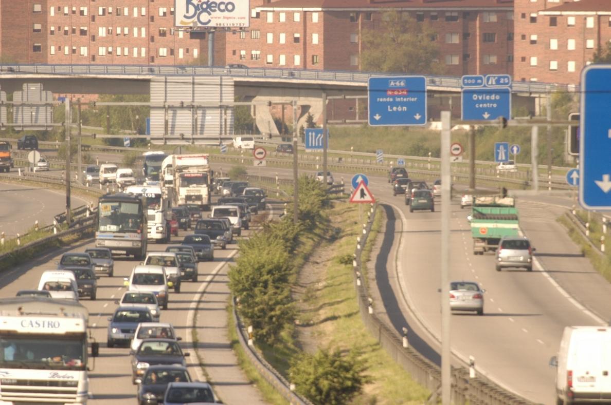 Un fallecido y 15 heridos leves en los 36 accidentes registrados en las carreteras asturianas