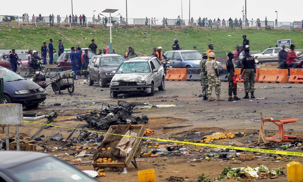 Al menos 20 muertos en un atentado con coche bomba en el norte de Nigeria