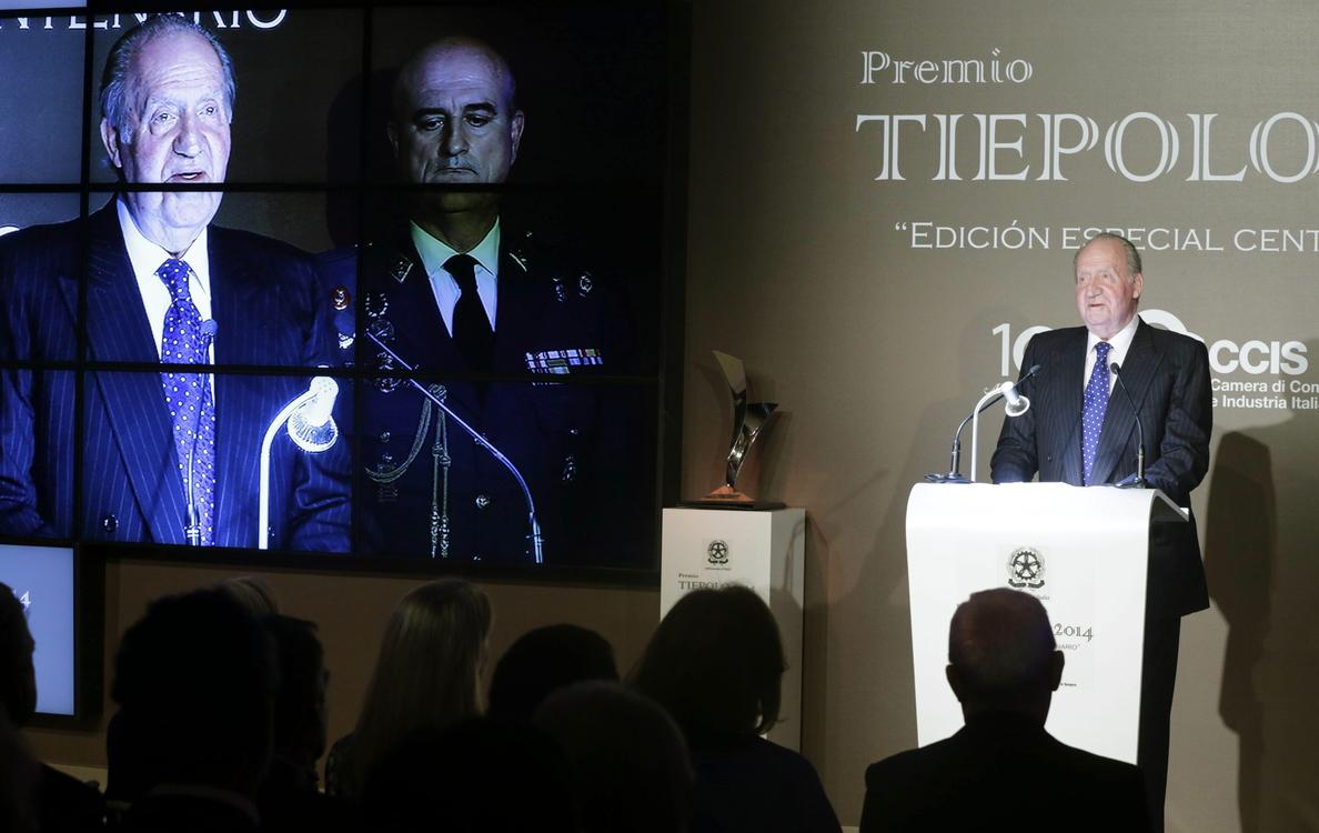 El Rey Juan Carlos: «Nunca olvidaré lo que hicieron el PCE y el PSOE en la transición»