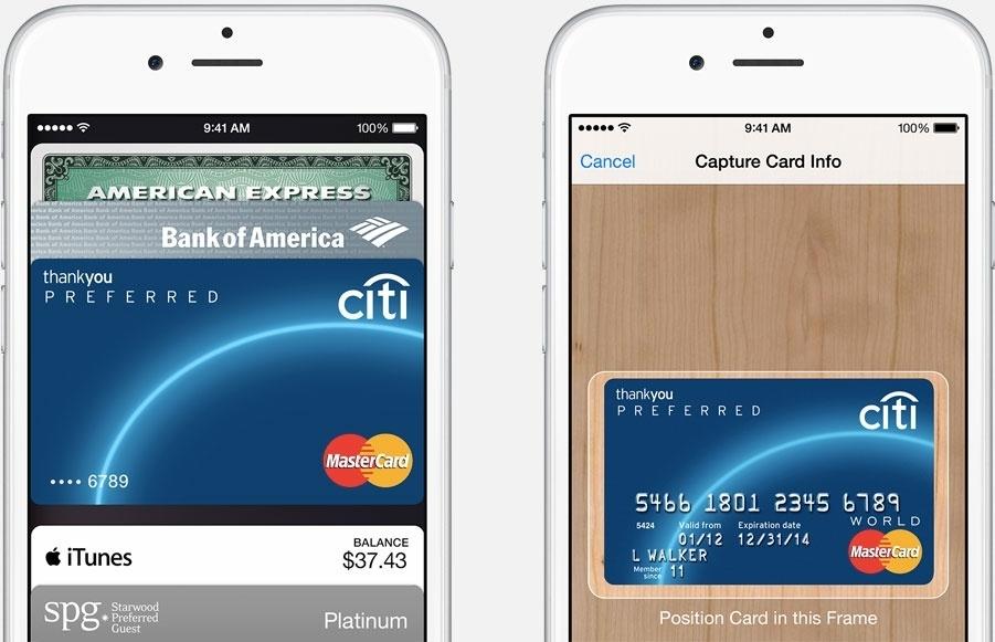 Apple Pay llegará a Europa en la primera mitad de 2015