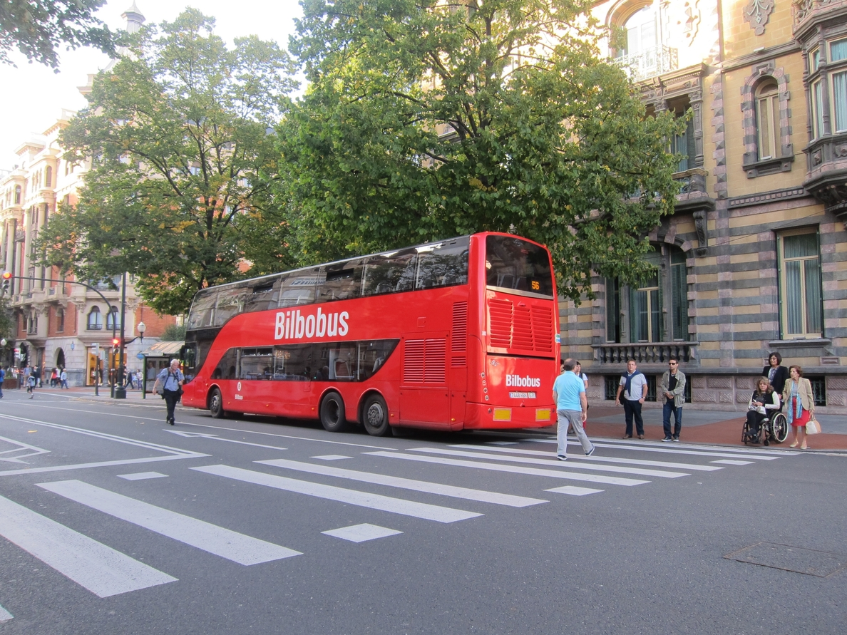 El Ayuntamiento de Bilbao recomienda el uso del transporte público en Nochevieja