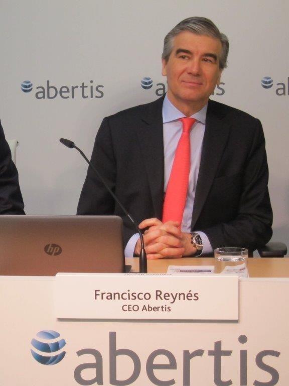 Abertis pagará un »bonus» de 6 millones a Reynés por cumplimiento del nuevo plan estratégico a 2017