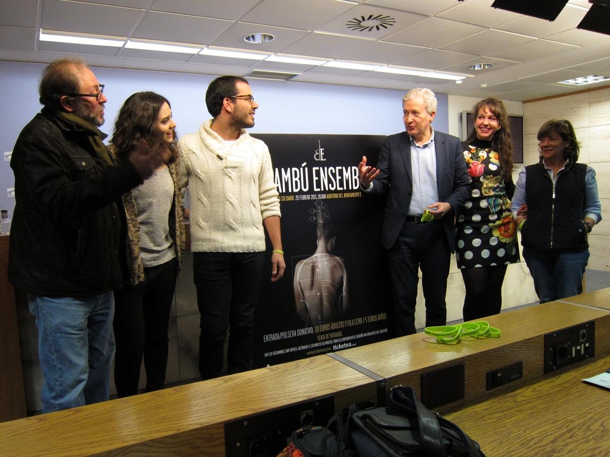 »Bambú Ensemble» ofrece un concierto benéfico a favor de la ONGD »Formación y vida»