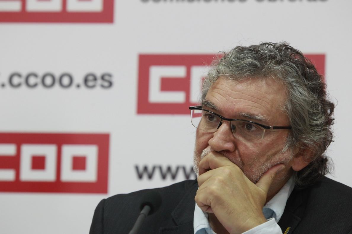 CC.OO. urge a CEOE a cerrar ya el pacto salarial y a que no lo vincule con la formación