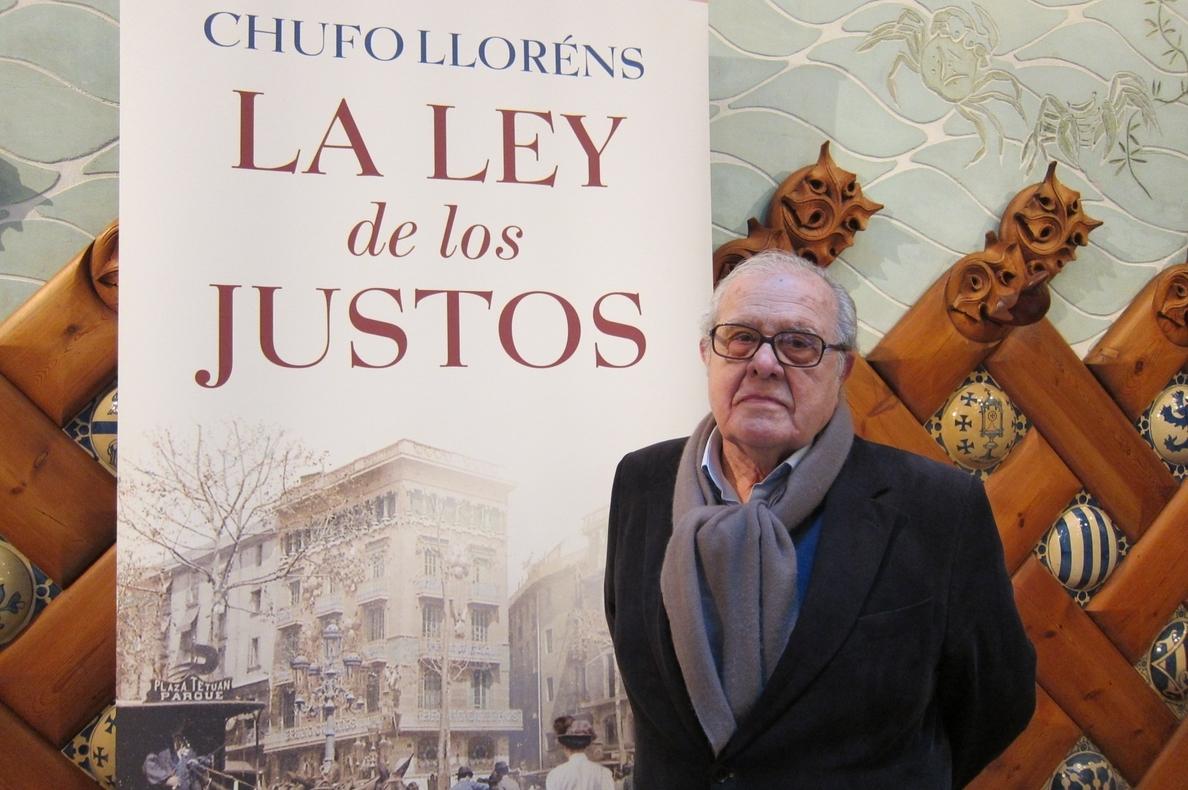 Chufo Lloréns explora la Barcelona modernista en su novela »La ley de los justos»