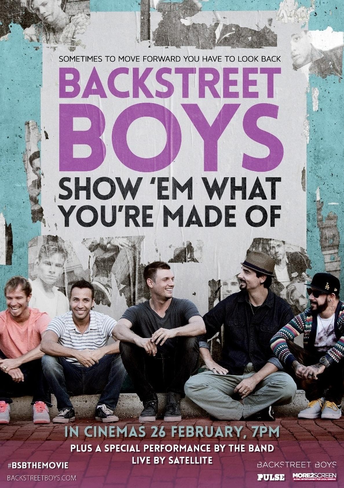 Cinesa proyectará un concierto acústico en directo de los Backstreet Boys en el 20 aniversario del grupo