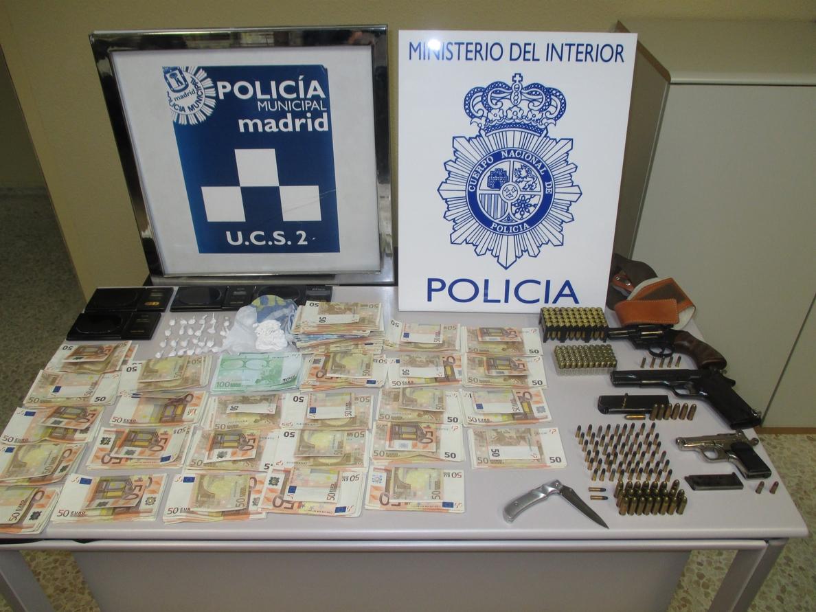 Desmantelado uno de los puntos de venta de droga más activos de la capital
