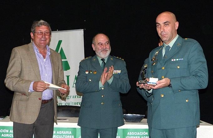 Equipo Roca de la Guardia Civil, distinguido por Asaja-Cartagena por conseguir reducir los delitos y robos en 80%