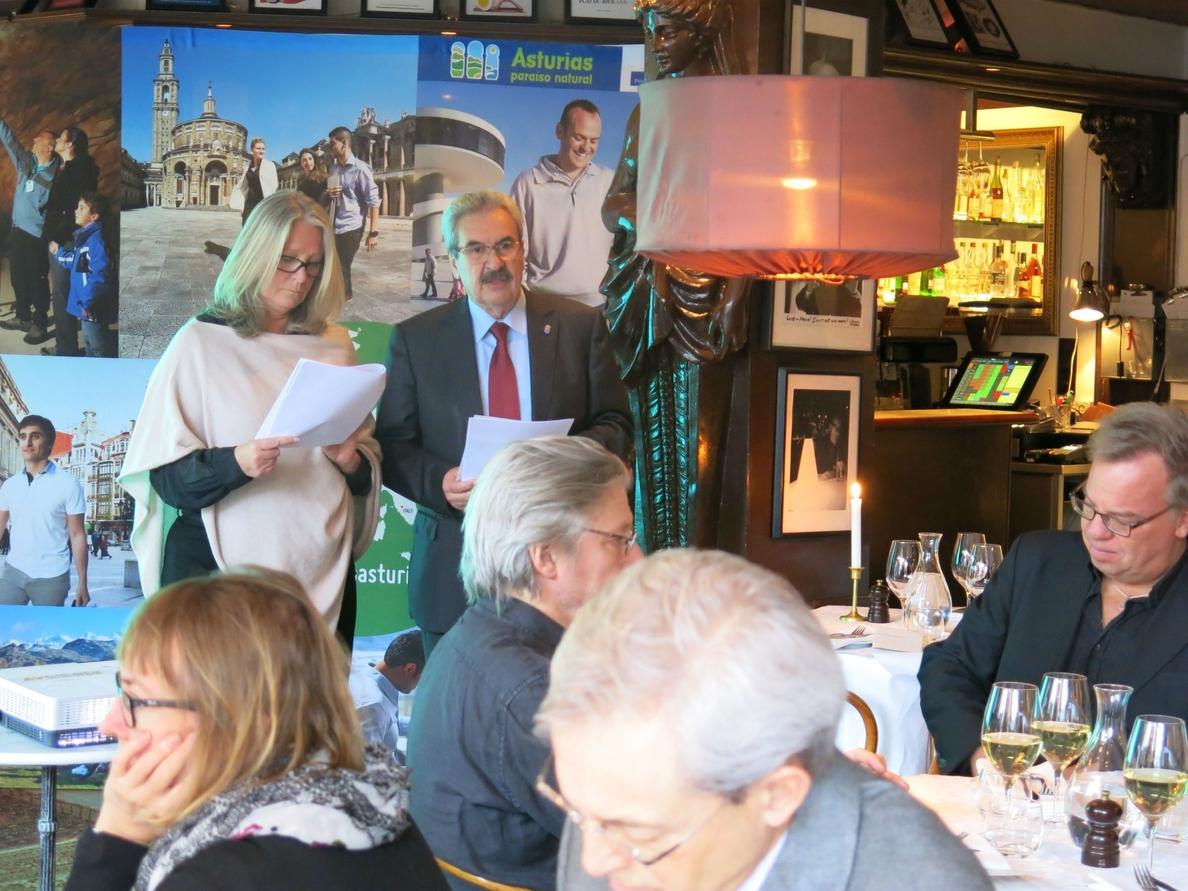El Gobierno asturiano presenta su «oferta turísitica» en Estocolmo