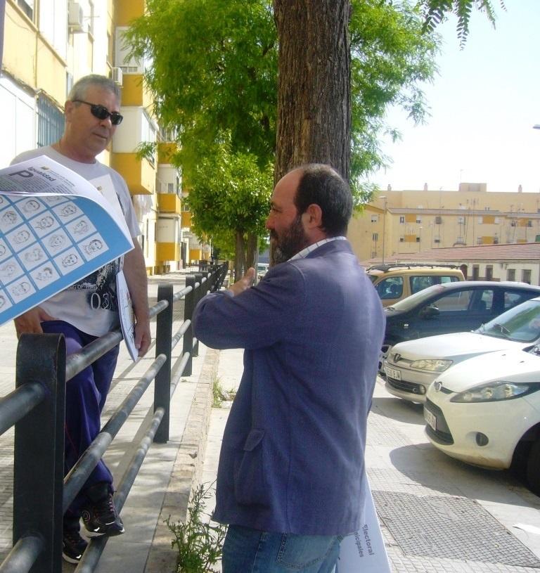 Jiménez (IU) asegura que si gobierna recuperará la empresa de la vivienda para «luchar contra los desahucios»