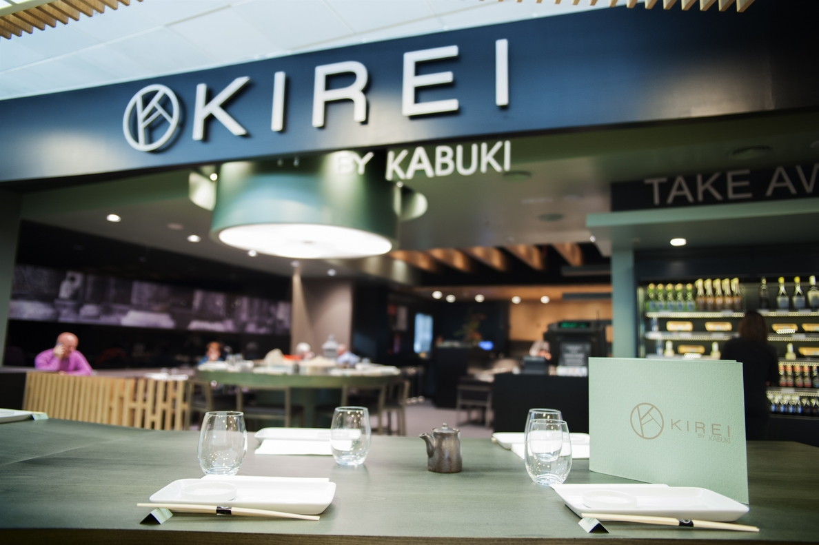 Kirei by Kabuki abre su segundo restaurante en el aeropuerto Adolfo Suárez de la mano de Áreas