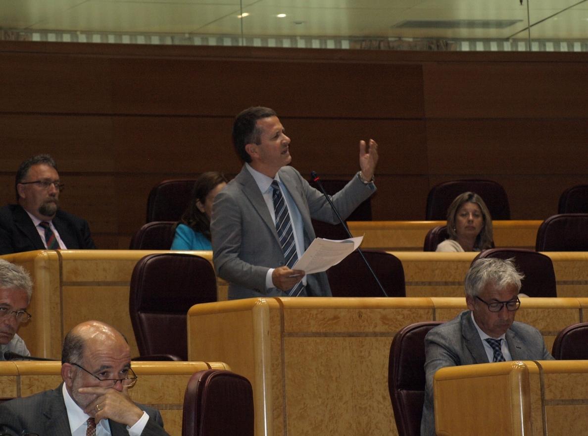 El PNV propone en el Senado que los partidos puedan seguir recibiendo donaciones de empresas
