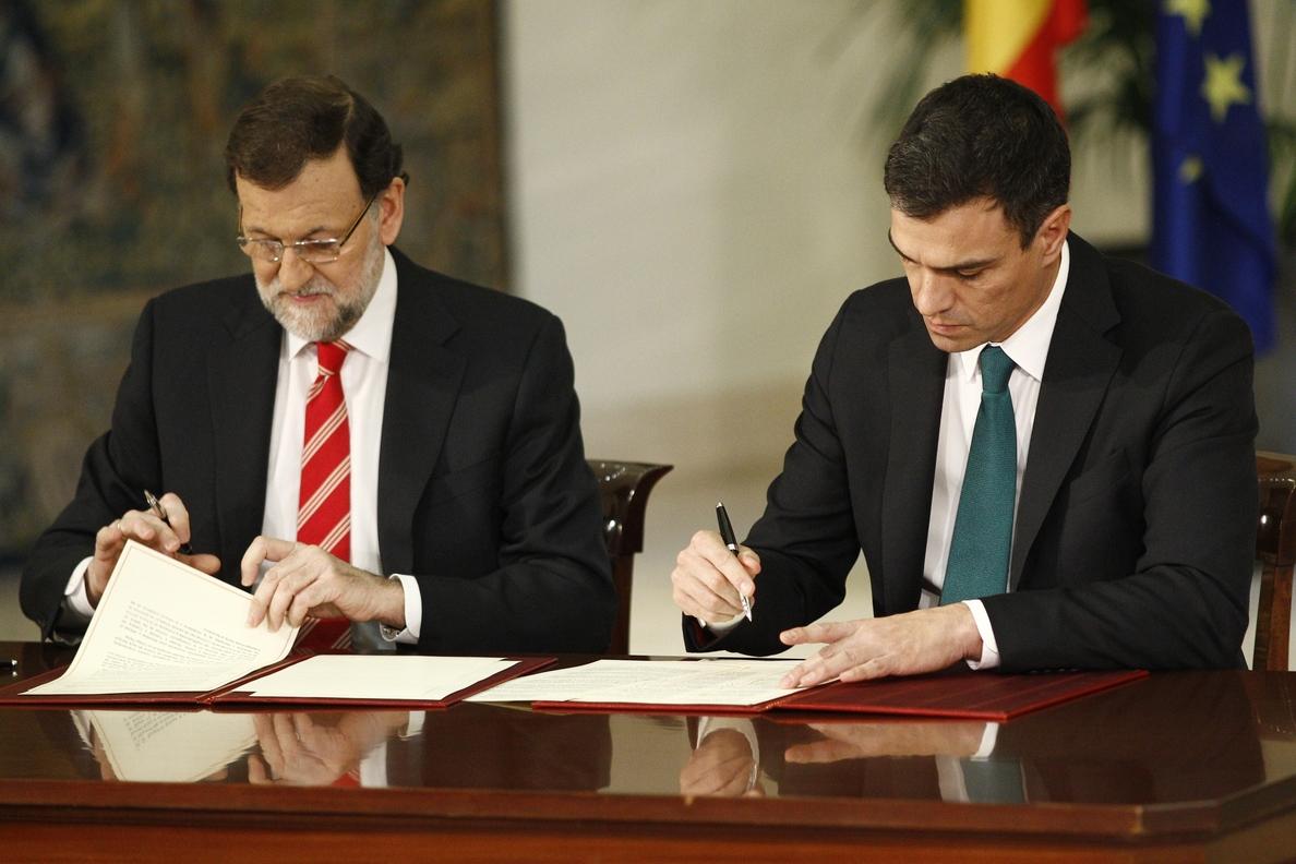 PP y PSOE aprueban en el Congreso su pacto antiyihadista sin lograr el apoyo de nuevos grupos