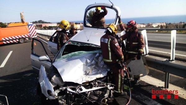 El accidente mortal en contra dirección del Eix Transversal fue por un error humano