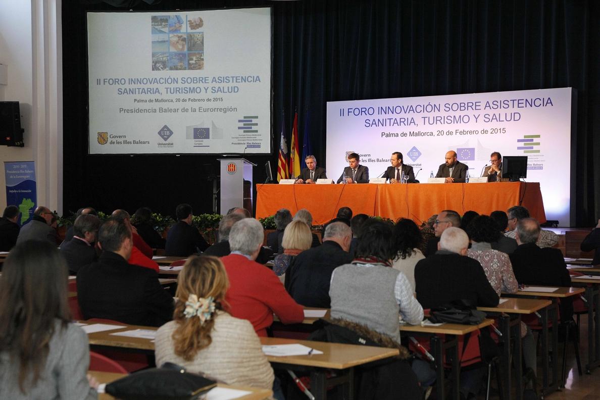 Bauzá destaca la importancia de que Baleares pueda convertirse en «un destino de excelencia saludable»