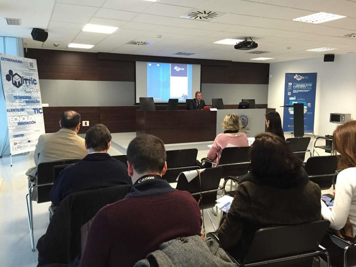 El Cicytex apuesta por el uso de las TIC como «motor» de la agroindustria en Extremadura