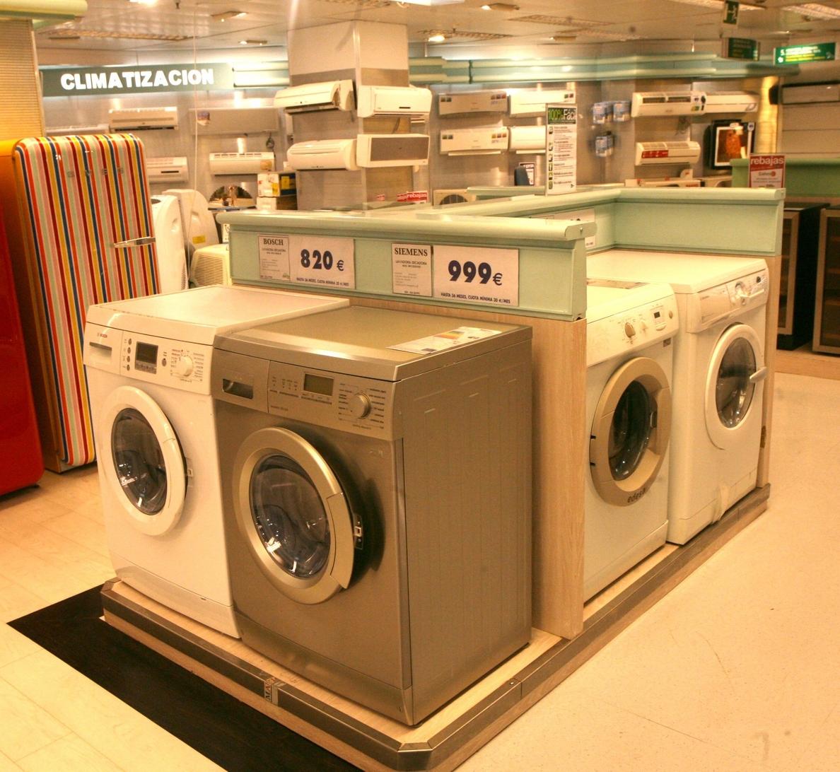 Fabricantes y comercio reclaman al Gobierno que impulse un plan »renove» para electrodomésticos