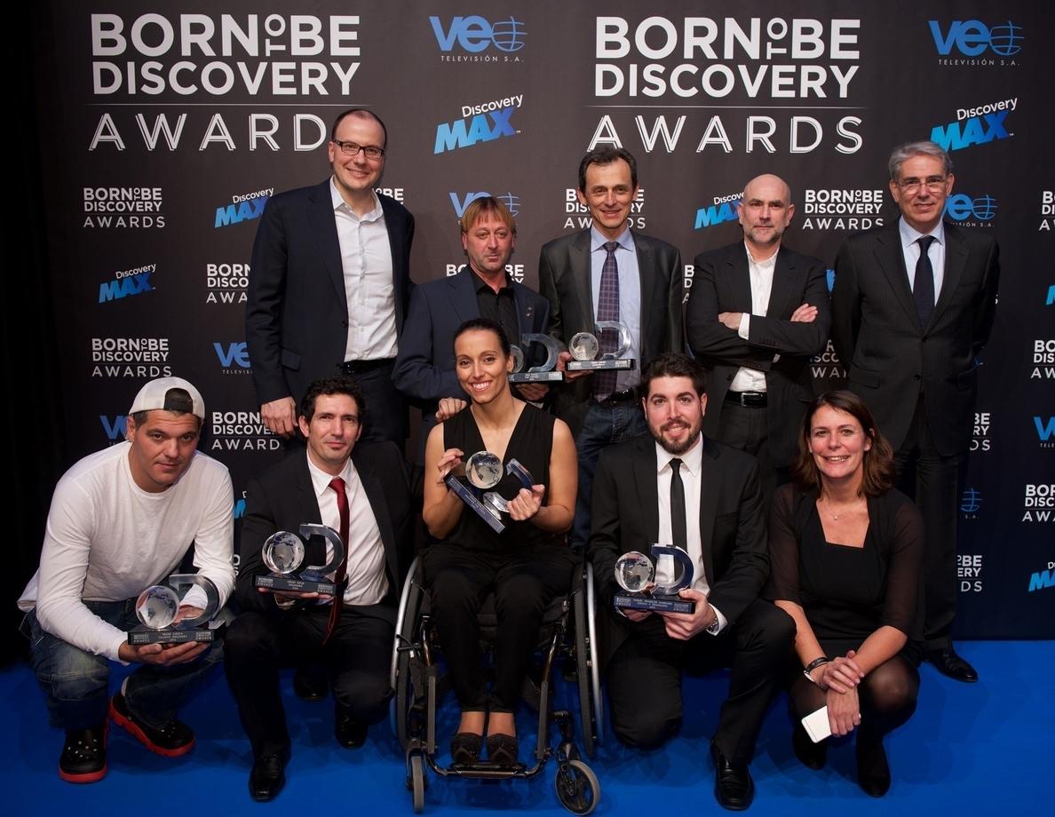 Marc Márquez, Teresa Perales y Josu Feijoo, premiados en los I Born To Be Discovery Awards al talento español