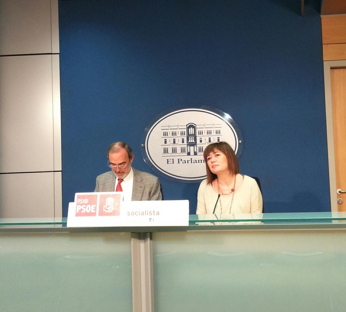 PSOE balear, ante posibles pactos, dice que «no hay nada cerrado» y que el PP renunció a sus siglas en Formentera