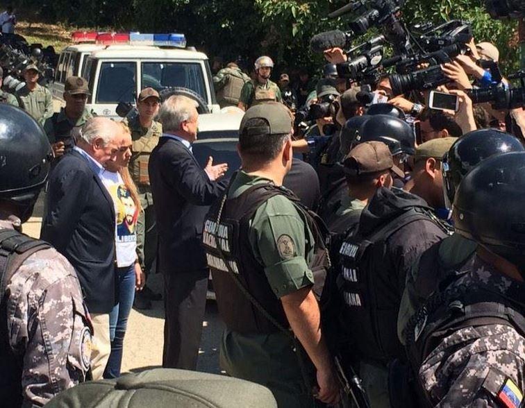 Piñera y Pastrana tachan de «brutal» la detención de Ledezma y piden que sea repudiada