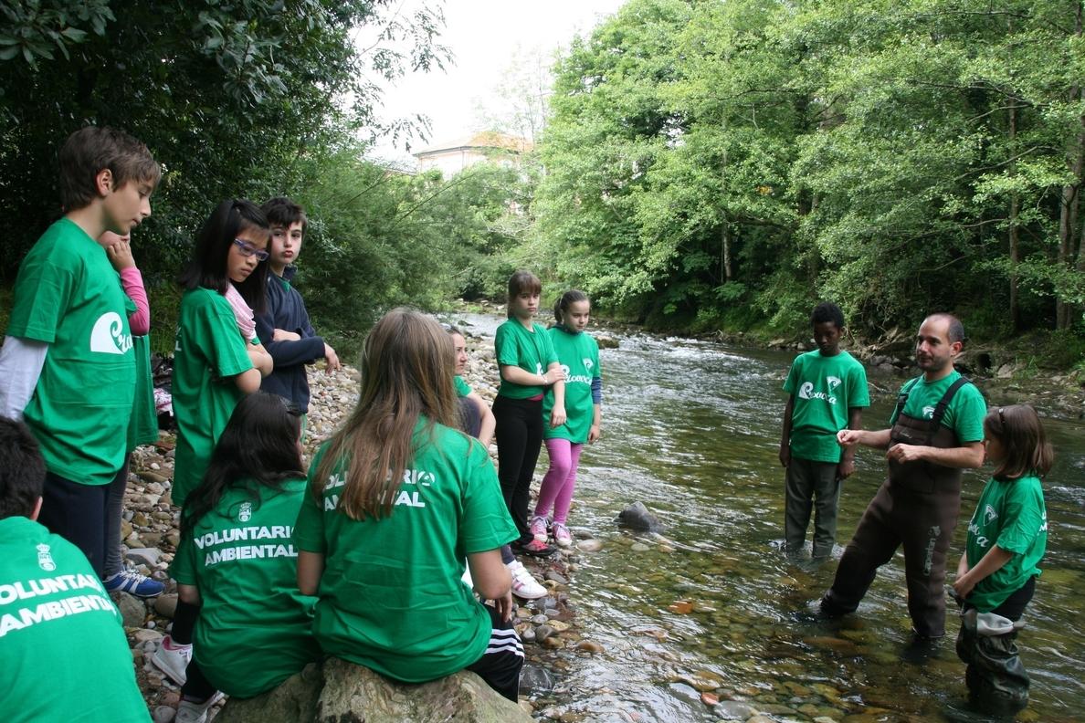 La Red Cántabra de Desarrollo Rural pone en marcha una nueva edición del programa de voluntariado »¡Explora tu río!»