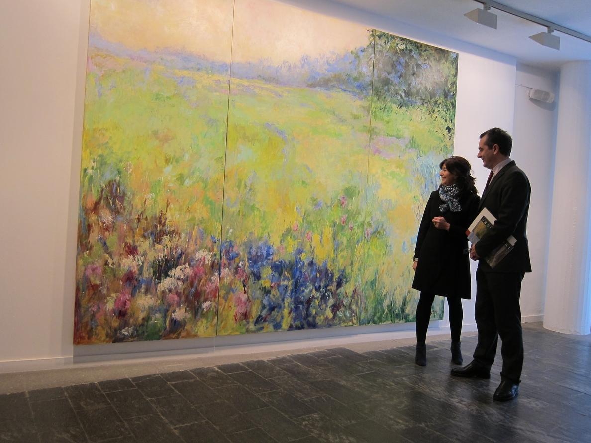 La naturaleza cobra vida en las pinturas de García Pertejo, que se pueden ver en La Salina de Salamanca
