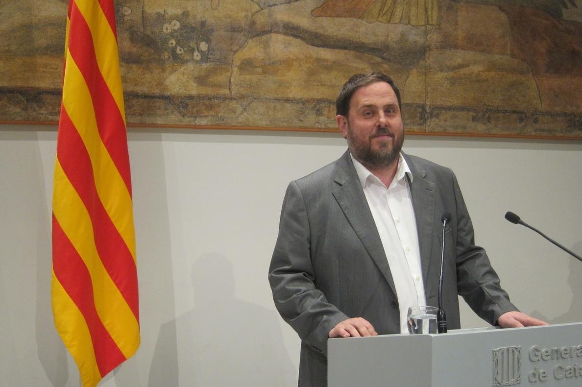 Junqueras: «Nunca hemos ganado los independentistas y pido que respeten los resultados»