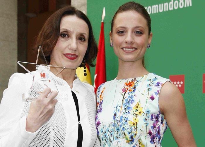 Luz Casal y Michelle Jenner premiadas en el Día Internacional de la Mujer