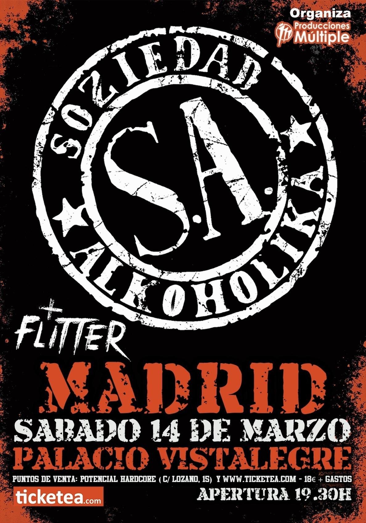 Cifuentes pide al fiscal que valore prohibir un concierto de Soziedad Alkohólika en Madrid