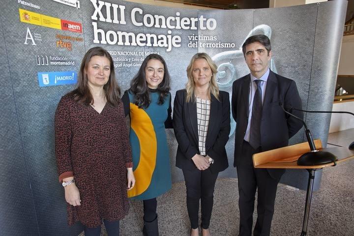 RTVE retransmitirá el concierto homenaje a las víctimas del terrorismo