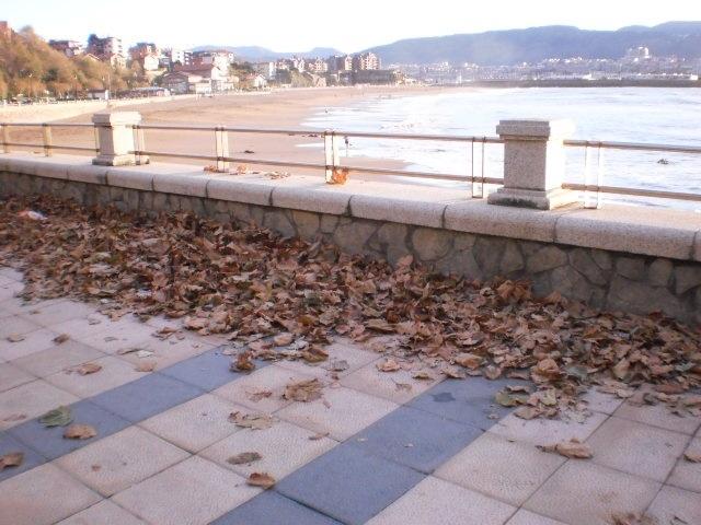 Sindicatos cifran en un 90% el seguimiento de la huelga de limpieza viaria y recogida de residuos en Getxo