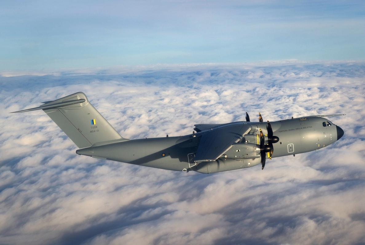 Airbus D&S entrega el primer A400M a la Fuerza Aérea de Malasia
