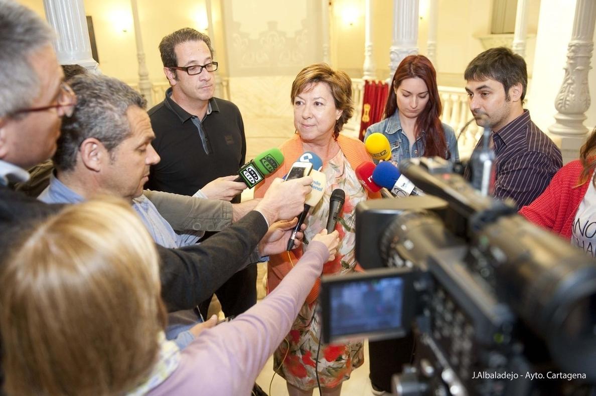 Barreiro asegura que «no tiene sentido» que ella acuse a Guillén por el caso »Novo Carthago»